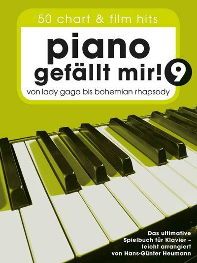 Piano gefällt mir! 50 Chart und Film Hits - Band 9