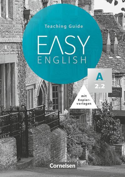 Easy English A2: Band 2. Teaching Guide mit Kopiervorlagen