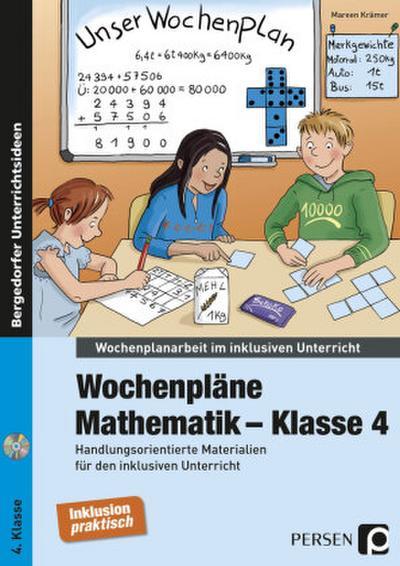 Wochenpläne Mathematik - Klasse 4