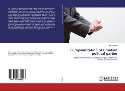 Europeanization of Croatian political parties