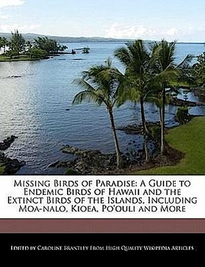 Missing Birds of Paradise: A Guide to Endemic Birds of Hawaii and the Extinct Birds of the Islands, Including Moa-Nalo, Kioea, Po'ouli and More