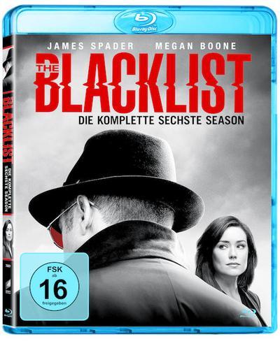 The Blacklist - Die komplette sechste Season BLU-RAY Box