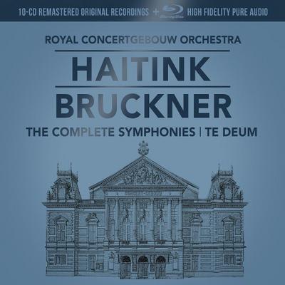 Haitink: Bruckner - Symphonien 0-9, Te deum (Blue-Ray Audio)