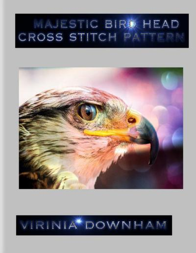 Majestic Bird Head Cross Stitch Pattern