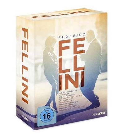 Federico Fellini Edition DVD-Box