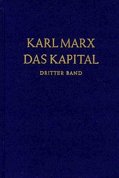 Das Kapital Bd. 3