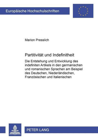 Partitivität und Indefinitheit