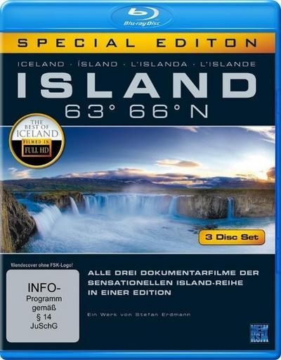 Island 63° 66° N - Gesamtbox