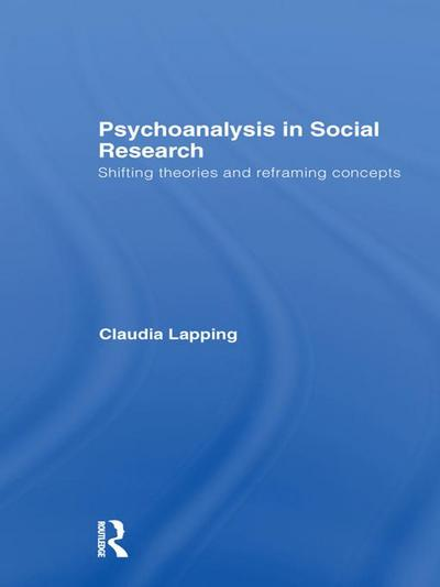 Psychoanalysis in Social Research
