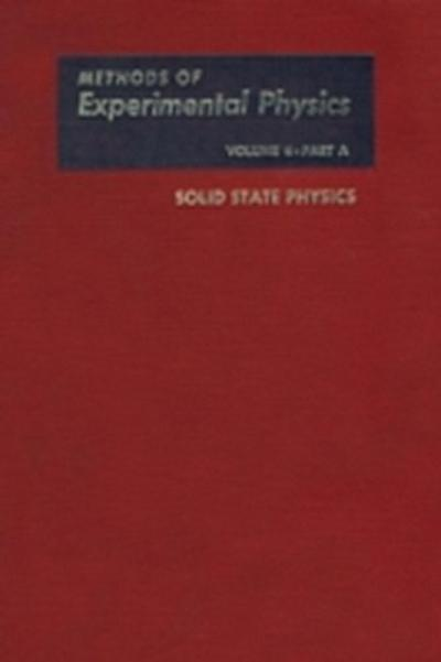 Solid State Physics, Part A