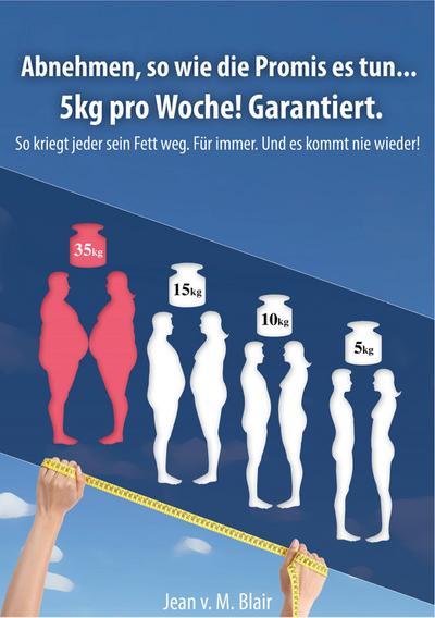 Abnehmen, so wie die Promis es tun… 5kg pro Woche! Garantiert.