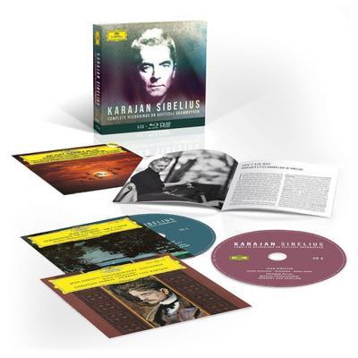 Herbert von Karajan - Complete Sibelius Recordings on Deutsche Grammophon (mit Blu-ray Audio)