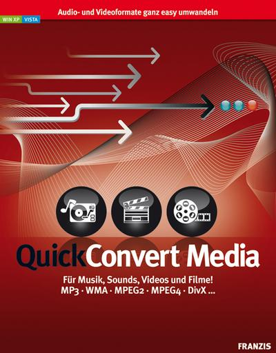 QuickConvert Media,CD-ROM