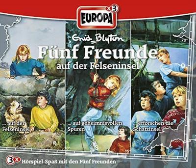 Fünf Freunde Box 23. Auf der Felseninsel