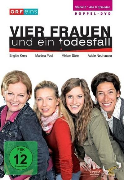 Vier Frauen und ein Todesfall. Staffel 6 DVD