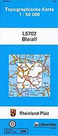 Bleialf  1 : 50 000