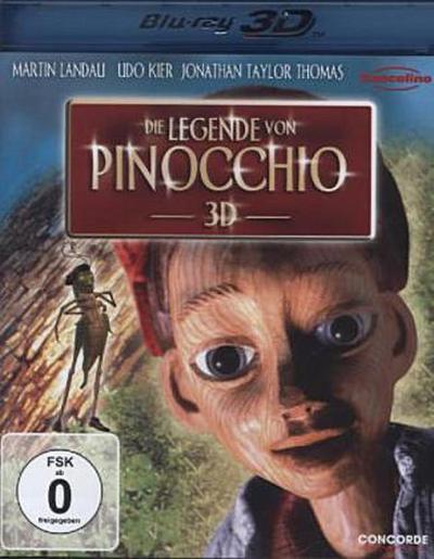 Die Legende von Pinocchio 3D