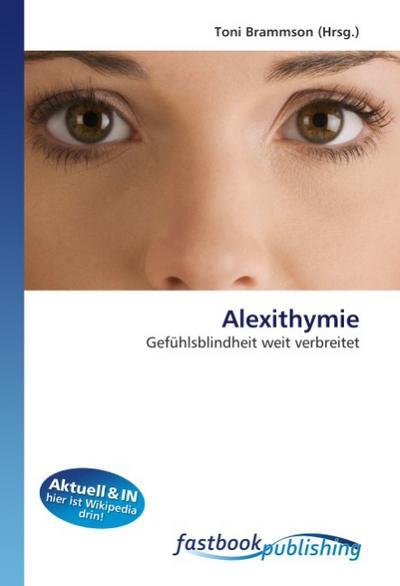 Alexithymie - Toni Brammson