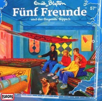 Fünf Freunde 057: ... und der fliegende Teppich