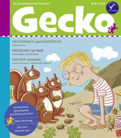 Gecko Kinderzeitschrift Band 83