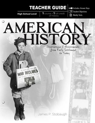 American History - Teacher Guide