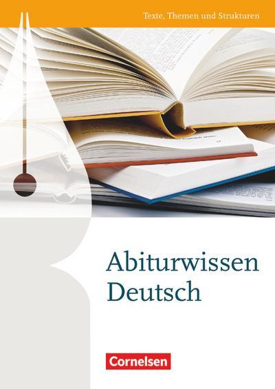 Texte, Themen und Strukturen - Deutschbuch für die Oberstufe - Zu allen Ausgaben