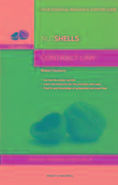 Nutshells Contract Law