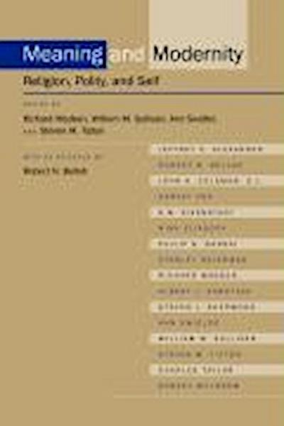 Meaning and Modernity: Religion, Polity, and Self