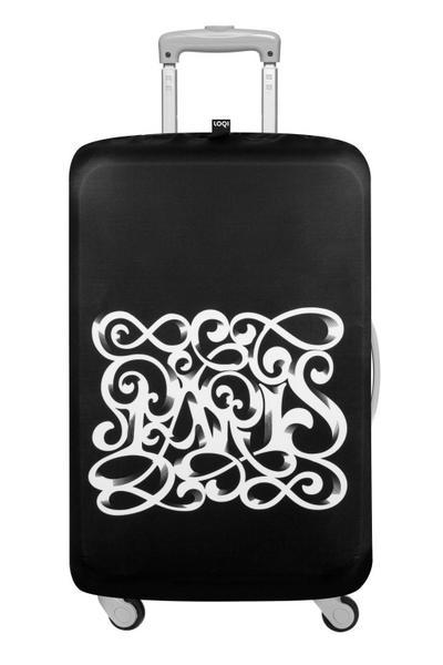 LOQI Luggage Cover TYPE Paris Art Deco
