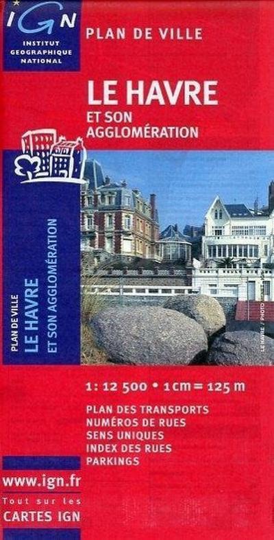 Le Havre Stadtplan 1 : 12 5000