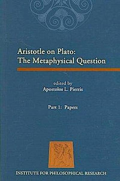 Aristotle on Plato