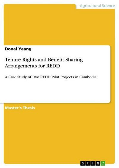 Tenure Rights and Benefit Sharing Arrangements for REDD - Donal Yeang