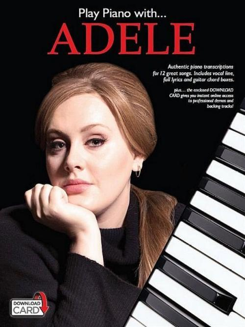 Play Piano With Adele (Piano Voice Guitar Book Updated Edition) Adele