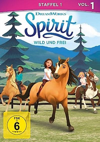 Spirit, wild und frei. Staffel.1.1, 1 DVD