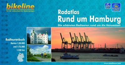 Bikeline Radatlas Rund um Hamburg