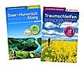 Hunsrück-Wander-Set/Saar-Hunsrück-Steig Band 1 West & Traumschleifen Band 1. Premium-Wandern auf Deutschlands schönsten Wegen zwischen Saar, Mosel und Rhein. Mit GPS-Daten, Karten und Höhenprofilen.