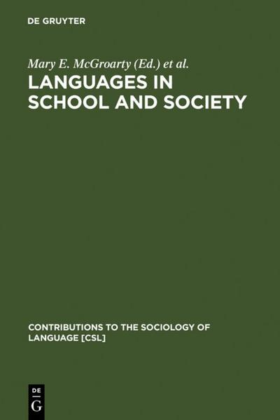 Languages in School and Society