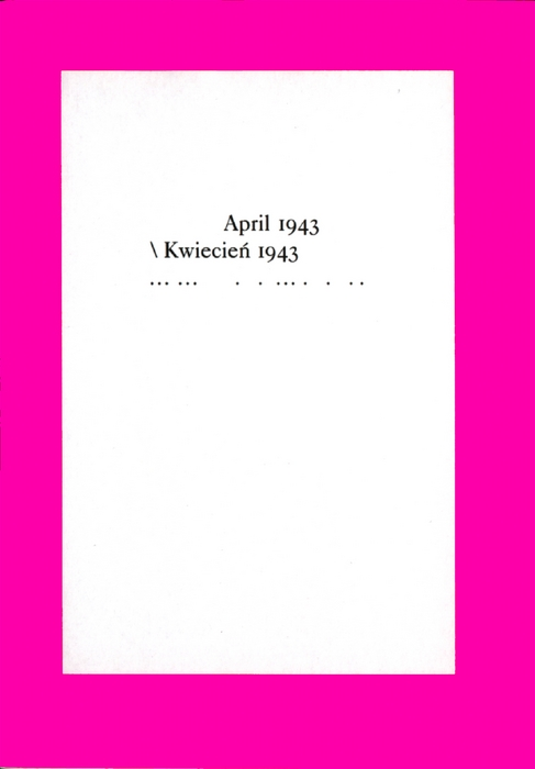 April 1943 /Kwiecien 1943 Berliner Bündnis gegen IG Farben / Gruppe offene  ...