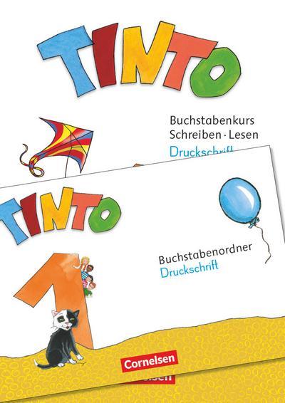 Tinto 1 1. Schuljahr - Buchstabenordner Druckschrift und Arbeitsheft Schreiben/Lesen im Paket