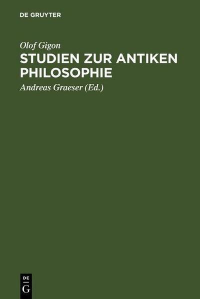Studien zur antiken Philosophie