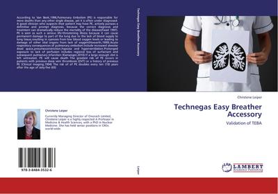 Technegas Easy Breather Accessory