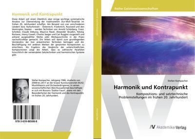 Harmonik und Kontrapunkt