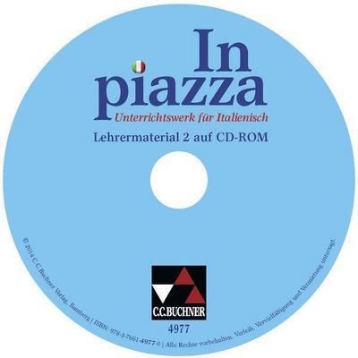 In piazza A 2 Lehrermaterial. Zu den Lektionen 9-15. CD-ROM