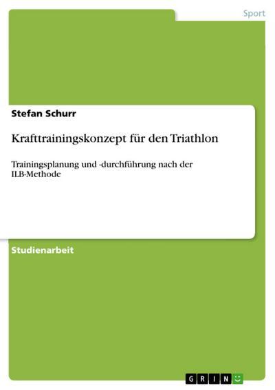 Krafttrainingskonzept für den Triathlon