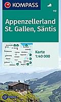 Appenzellerland - St. Gallen - Säntis 1 : 40 000