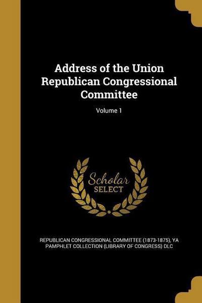 ADDRESS OF THE UNION REPUBLICA