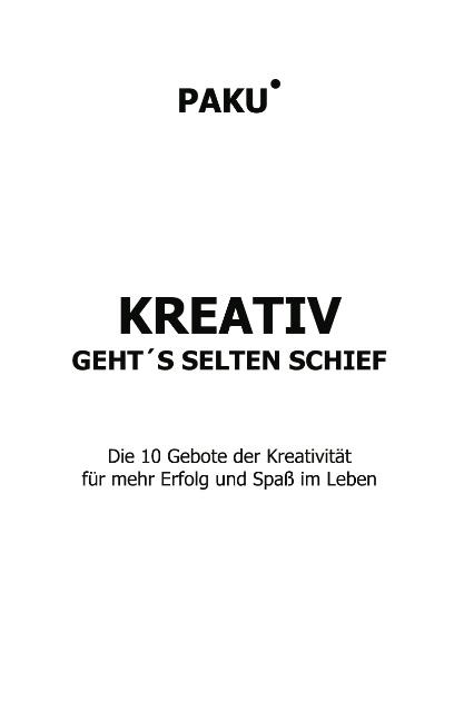 Paku : Kreativ geht's selten schief : 9783831112975