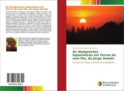 As designações toponímicas em Terras do sem fim, de Jorge Amado