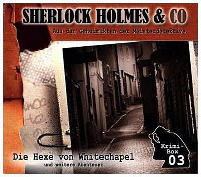 Sherlock Holmes & Co - Die Krimi Box. Box.3, 3 Audio-CDs