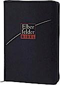 Elberfelder Bibel - Standardausgabe, ital. Kunstleder, schwarz, mit Reißverschluß